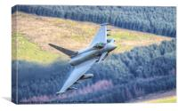 Typhoon over Wales, Canvas Print