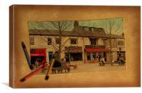 Cedar Square, Canvas Print