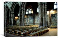 Cathedral Mosaics, Canvas Print