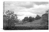 Country Farm, Canvas Print