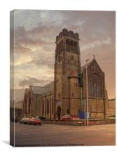 Holy Trinity Church, Canvas Print