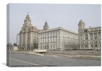 Liverpools Heritage, Canvas Print
