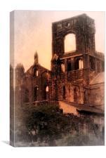 Abbey Ruins, Canvas Print