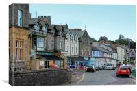 Arnside Village, Cumbria, Canvas Print