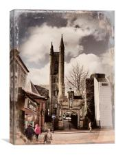 Church of St Mary, Chorley., Canvas Print