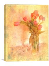 Tulip Time, Canvas Print