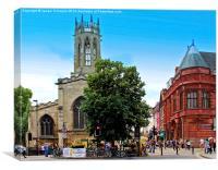 All Saints, York., Canvas Print