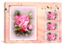 Rose Collage , Canvas Print