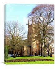 Blackburn Cathedral, Canvas Print