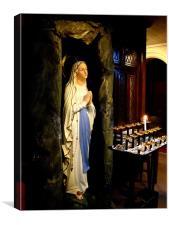 At Prayer, Canvas Print