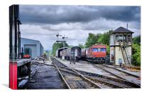 Embsay Station, Canvas Print
