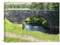 Braemore Bridge, Canvas Print
