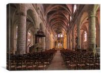 Bazas Cathedral, Canvas Print