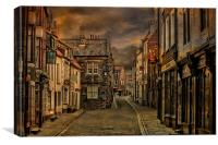 Whitby at Dawn, Canvas Print