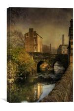 Old Mills, Canvas Print