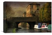 Rochdale Canal Hebden, Canvas Print