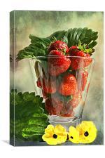 Strawberries anyone ?, Canvas Print