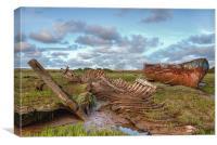 Wreckage !, Canvas Print
