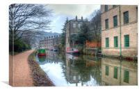 Rochdale Canal, Canvas Print