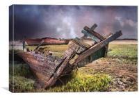 Skipool Wreck, Canvas Print