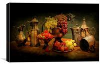 Still life of Fruit., Canvas Print
