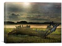 Fleetwood Wreck, Canvas Print