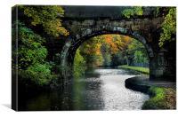 The Bridge , Canvas Print