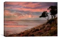 Morecambe Bay, Canvas Print