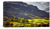 Castlerigg Cumbria Uk, Canvas Print