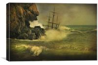 Ship Wrecked !!, Canvas Print
