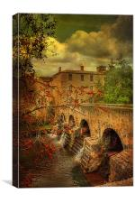 Pondaurant  France, Canvas Print