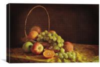 Fruit Basket, Canvas Print