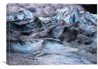 Jostedalsbreen glacier Norway., Canvas Print