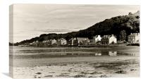 Scotland Bute Kilchattan Village, Canvas Print