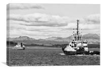 Clyde Tug Boat, Canvas Print