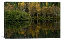 Glencoe Loch Reflections, Canvas Print