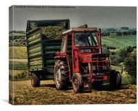 Massey Ferguson Workhorse, Canvas Print