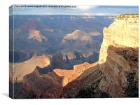 The One & Only Grand Canyon, Canvas Print