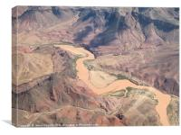 Colorado River, Canvas Print