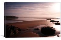 Godfrey's Beach Sunrise, Tasmania, Canvas Print