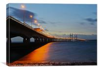 Ail Groesfan Hafren (Second Severn Crossing), Canvas Print