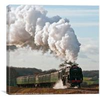 Mid-Hants Railway, Canvas Print
