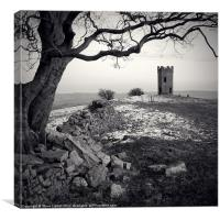 Twr Ffoledd (The Folly Tower), Canvas Print