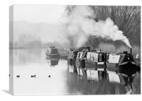 The Gloucester and Sharpness Canal, Canvas Print
