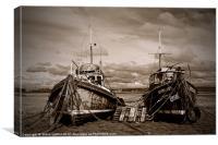 Sunderland Point, Canvas Print