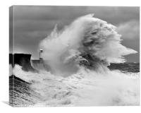 Porthcawl Lighthouse, Canvas Print