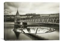 Pontsticill Reservoir, Canvas Print