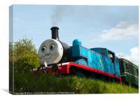 Thomas the Tank Engine, Canvas Print