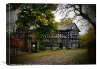 Hall i' th' Wood, Canvas Print