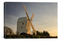 Clayton Windmill, Canvas Print
